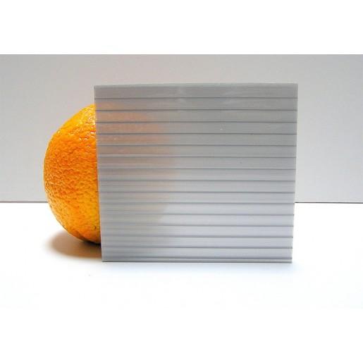 Сотовый поликарбонат 4 мм (серый)