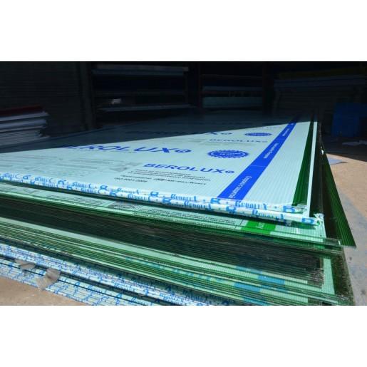 Сотовый поликарбонат 4 мм (зеленый)